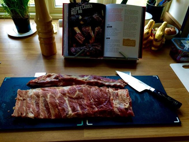 Trimmed rack of ribs | butterwouldntmelt.com